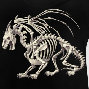 skeletal dragon - Baby-T-shirt