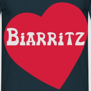 I Love Biarritz Tabliers - T-shirt Homme