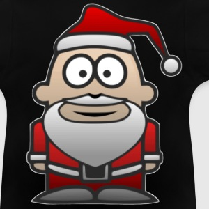 Father Christmas Santa St Nick - Baby T-Shirt