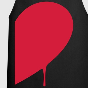 Half Heart Man T-Shirts - Cooking Apron