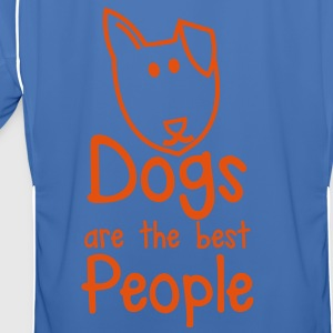 dogs are the best people puppy dog cute! Jackets & Vests - Men's Football Jersey