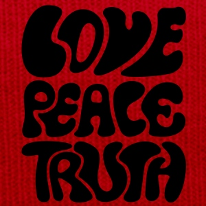 Love Peace Truth * Lifestyle 70s T-Shirts Goa T-Shirts - Winter Hat