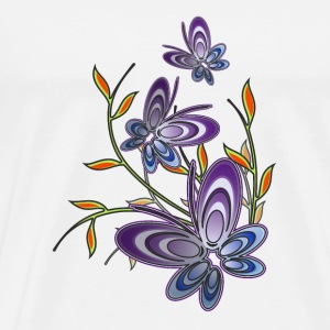 'Butterfly' Tote Bag - Men's Premium T-Shirt