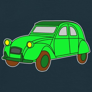 Digi - Ente Oldtimer France Frankreich Hot Rod Retro Automobil Duck 1964 Tröjor - T-shirt herr