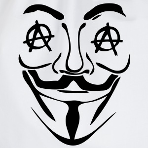 logo anarchy anonymous3 masque mask Sweat-shirts - Sac de sport léger