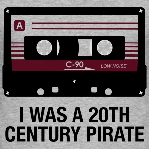 I WAS A 20TH CENTURY PIRATE - Männer Slim Fit T-Shirt