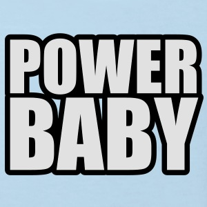 Power Baby Baby Body - Kinder Bio-T-Shirt