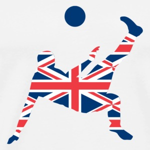 Soccer United Kingdom - Männer Premium T-Shirt