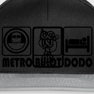 Official logo of the Oulaoula t-shirt shop. Bags  - Snapback Cap