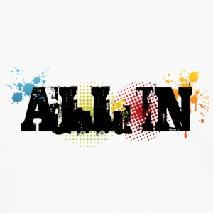 All In Graffiti - Männer Premium Langarmshirt