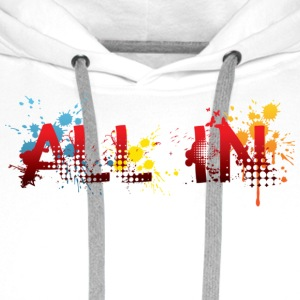 All In Graffiti - Men's Premium Hoodie