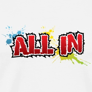 All In Graffiti - Männer Premium T-Shirt