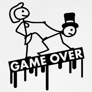 bachelor_party_game_over T-skjorter - Baseballcap