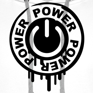 power_stamp T-skjorter - Premium hettegenser for menn