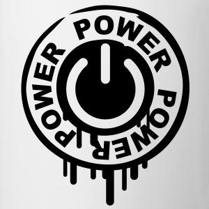 power_stamp T-shirts - Kop/krus