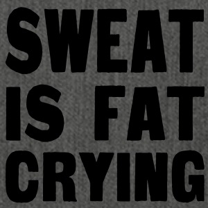 Sweat Is Fat Crying Sweatshirts - Skuldertaske af recycling-material