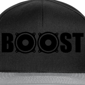 Bass Boost T-Shirts - Snapback-caps