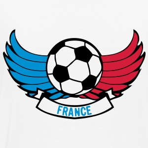 france foot supporter aille ballon equip Sweat-shirts - T-shirt Premium Homme