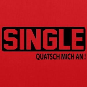 quatsch_single T-Shirts - Stoffbeutel