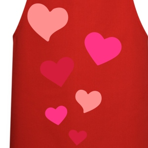 Heart Love T-Shirts - Cooking Apron