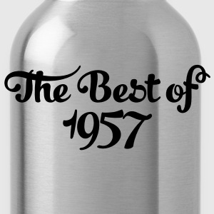 Geburtstag - Birthday - the best of 1957 (fr) Tee shirts - Gourde