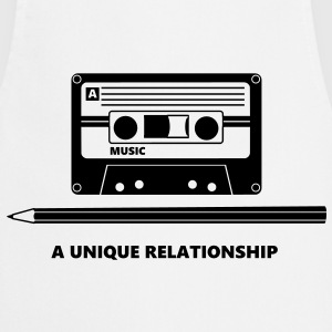 Kassette Stift Tape Pencil Relationship T-skjorter - Kokkeforkle