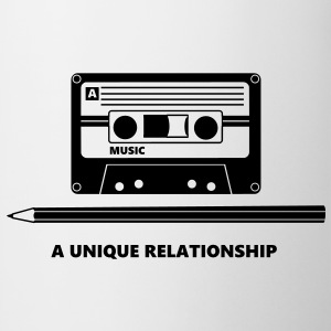 Kassette Stift Tape Pencil Relationship T-Shirts - Mug