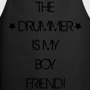 The Drummer is my Boyfriend T-Shirts - Kochschürze