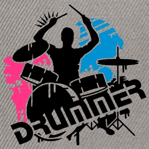 A drummer and his drums Kids' Tops - Snapback Cap