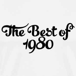 Geburtstag - Birthday - the best of 1980 (es) Camisetas de manga larga - Camiseta premium hombre