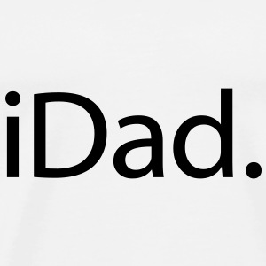 Father's Day - iDad - Men's Premium T-Shirt