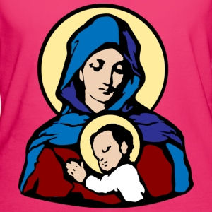 Mary and Jesus - Women's Organic T-shirt
