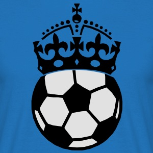 soccer crown Kookschorten - Mannen T-shirt