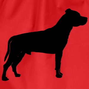 American Staffordshire Terrier T-shirt - Sacca sportiva