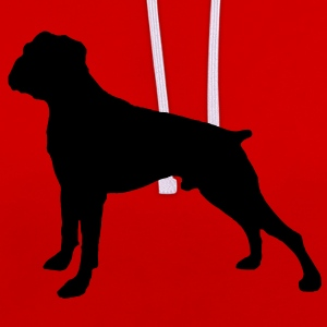 Boxer Dog Tee shirts - Sweat-shirt contraste