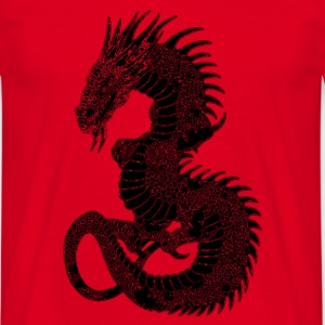 dragon Bags  - Men's T-Shirt