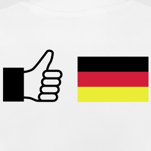 Like Wear Thump Up Daumen Deutschland Flagge Schwarz Rot Gold Kinder T-Shirts - Baby T-Shirt