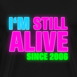 NEON - Birthday - still alive since 2006 (no) Gensere - Premium T-skjorte for menn