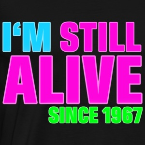 NEON - Birthday - still alive since 1967 (nl) Sweaters - Mannen Premium T-shirt