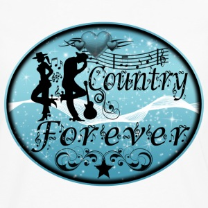 country forever T-Shirts - Men's Premium Longsleeve Shirt