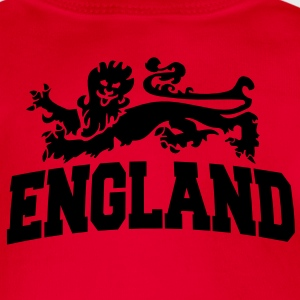 england with lion Kids' Tops - Organic Short-sleeved Baby Bodysuit