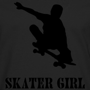 skater girl Tee shirts - T-shirt manches longues Premium Homme