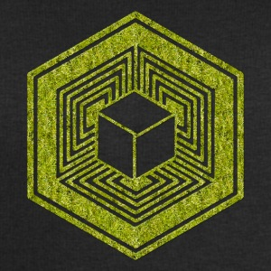 TESSERACT, Hypercube 4D, Crop Circle, 17th July 2010, Fosbury, Wiltshire, Symbol - Dimensional Shift T-Shirts - Men's Sweatshirt by Stanley & Stella