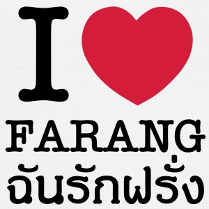 I Heart (Love) Farang Caps & Hats - Men's Premium T-Shirt