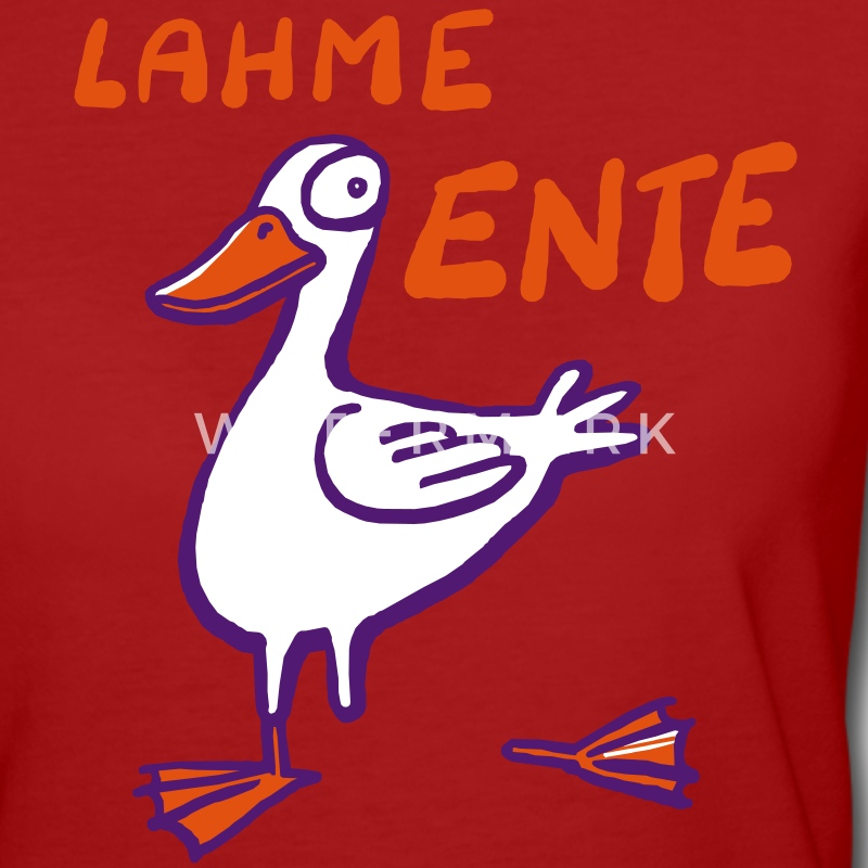 Lame Duck - Women's Organic T-shirt