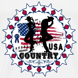 usa country Sweat-shirts - T-shirt Premium Homme