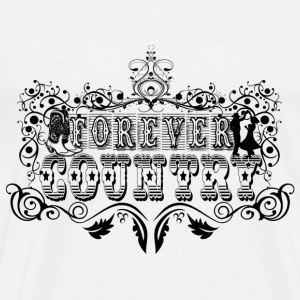 forever country Sweat-shirts - T-shirt Premium Homme