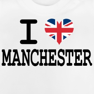 i love Manchester Kids' Shirts - Baby T-Shirt