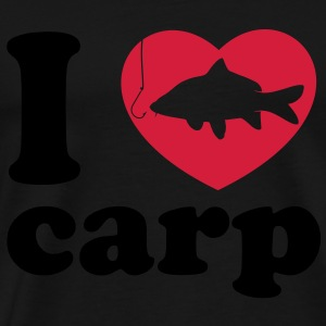 I Love Carp Fishing black - Männer Premium T-Shirt