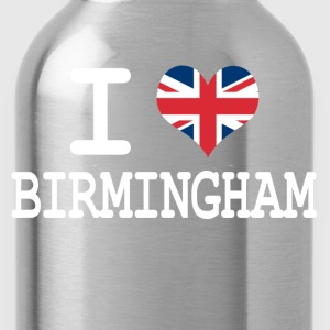 i love Birmingham Kids' Shirts - Water Bottle